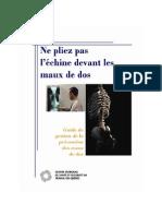 Guide Maux de Dos