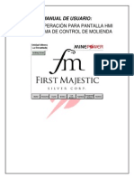 Manual de Usuario Hmi La Encantada