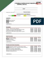 Formato Protocolo de Prueba Para Tableros