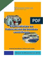 Presentacion 2014 Bombas Intercal