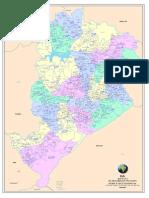 Mapa Zonas Bh