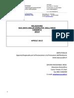 Report Annuale 2014 Dati QA Taranto_defx