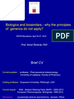Biologicals and Biosimilars Borut