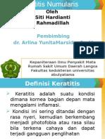 Keratitis Numularis Dila