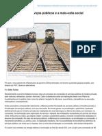 Outraspalavras.net-A Concessão Dos Serviços Públicos e a Mais-Valia Social