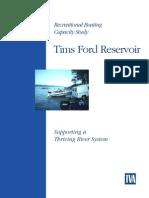 Tims Ford-TVA-Rec Boating Capacity Study