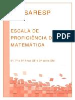 7 - Escala Proficiência Matemática2012