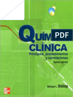Quimica Clinica, Bishop, 5ed