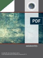 N° 2.- MIGRANTES Cuadernillo de Jurisprudencia de la CIDH