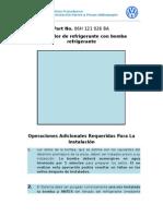 Proc. de Instalacion Bombas de Refrigerante - VW Tiguan 2010-2014