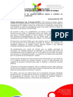 06-07-2011 El Ayuntamiento y la Dirección de Desarrollo Urbano Inicia retiro de propaganda ilegal de las calles de Xalapa. C375