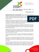 05-07-2011 Martes DIFerente se suma al apoyo de damnificados por las lluvias. C378