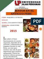 Alimentos en Antiguo Peru