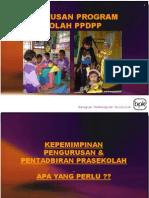 Pengurusan Prasekolah 2010