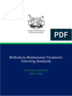Methadone Maintenance Treatment enforcement plan