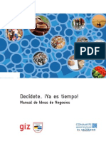 Manual de Ideas de Negocios