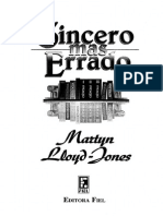 Sincero Mas Errado - Martin Lloyd-Jones