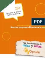 Por Un Chile Sin Violencia - Opción (16 Pp)