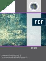 N° 4.- GÉNERO Cuadernillo de Jurisprudencia de la CIDH