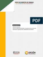 Colaboradores Del Sename - Opcion (80 Pp)