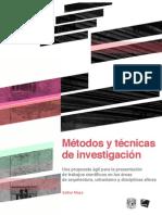 Metodos y Tecnicas de Investigación Para Arquitectura