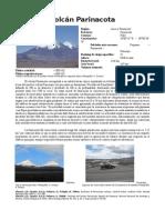 Ficha Volcán Parinacota