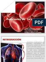 Funciones Sangre