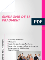 Síndrome de Li-Fraumeni