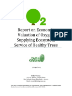 Report Economic Valuation of Oxygen Producing Capacity of One Tree