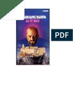 Lobsang Rampa - As-it-Was