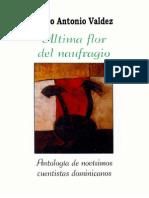 Pedro Antonio Valdez - Ultima Flor Del Naufragio