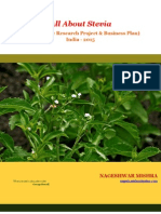 All About Stevia -A Complete Research Project & Stevia Business Plan