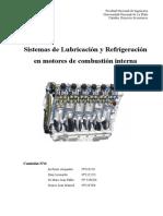 Lubricación y Refrigeración de Motores