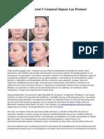 Radiofrecuencia Facial Y Corporal Siguen Las Promos!