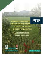 Automatizacion y Miniaturizacion de Sistemas de Screening y Determinacion de Residuos de Plaguicidas en Muestra Agroalimentaria