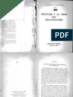 Nietzsche y La Crisis Del Irracionalismo