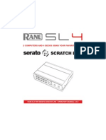 Scratch Live SL 4 2.5 Manual