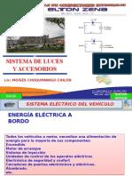 Sistema de Luces y Accesorios