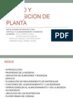Diseño de Planta industrial