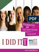 Itt Prospectus