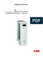 Inverter ABB ACH550-01 Um RevB