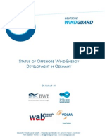 Factsheet Status Offshore Wind Energy Development Year 2014