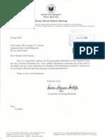 Miriam sends EDCA resolution to Supreme Court
