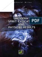 Modern Spirit Evocation and Results