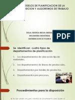 Modelos de Planificacion de La Disposicion y Algoritmos de Diseño