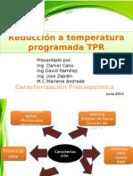 Reducción a temperatura programada TPR.pptx