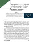 Non-Deceptive Counterfeiting Purchase Behavior