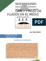 Ley de Darcy y Flujo de Fluidos En