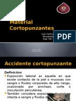 Material Cortopunzantes Luis Colihuinca L.