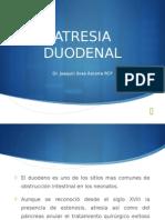 Atresia Duodenal - Joaquín Sosa